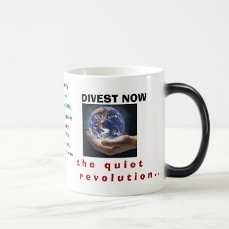 Creative Divestment. A powerful step to OUR Collet Magic Mug