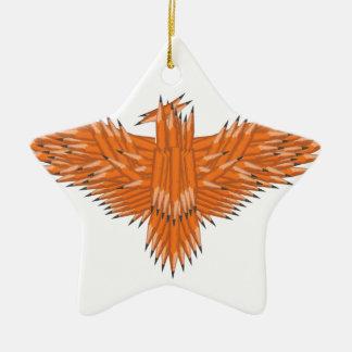 Creative Eagle Ceramic Star Decoration