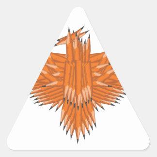 Creative Eagle Triangle Sticker