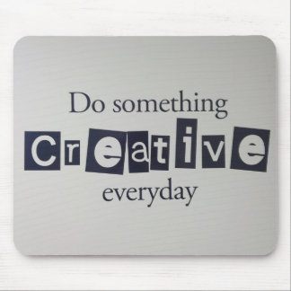 creative everyday mouse pad