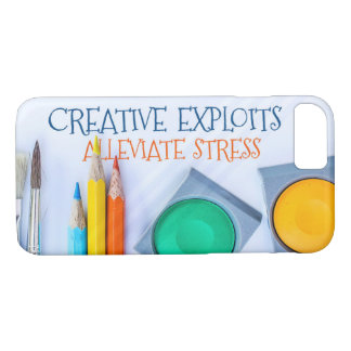 Creative Exploits Alleviate Stress iPhone 8/7 Case