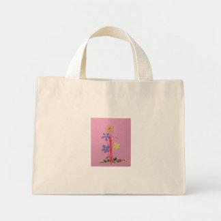 Creative-Flower - Pink Mini Tote Bag