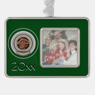 Creative Frame and Mat For Your Masterpiece Silver Plated Framed Ornament