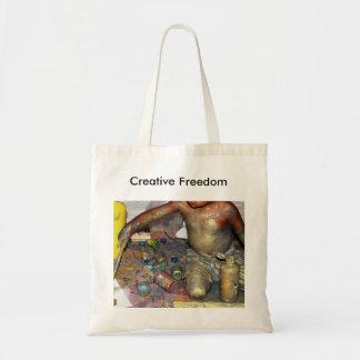 Creative Freedom Tote Budget Tote Bag