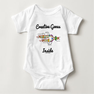 Creative Genes Inside (DNA Replication) Baby Bodysuit