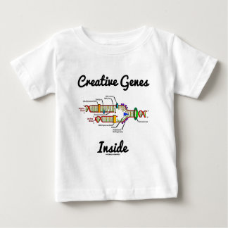 Creative Genes Inside (DNA Replication) Baby T-Shirt