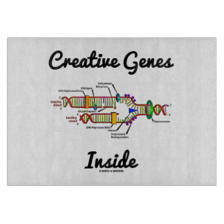 Creative Genes Inside (DNA Replication) Cutting Boards