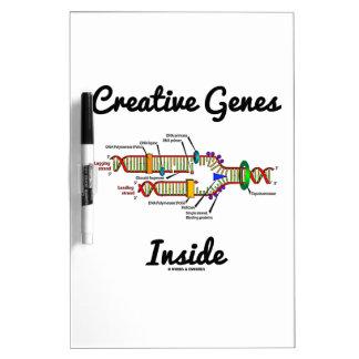Creative Genes Inside (DNA Replication) Dry-Erase Boards