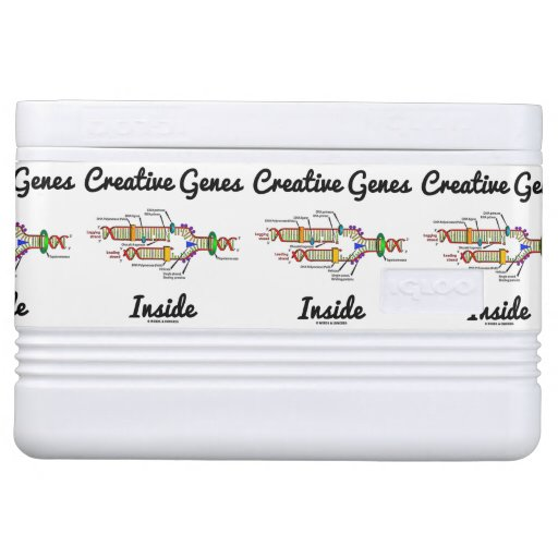 Creative Genes Inside (DNA Replication) Igloo Ice Chest