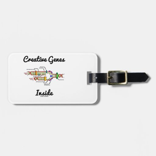 Creative Genes Inside (DNA Replication) Tag For Luggage