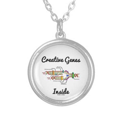 Creative Genes Inside (DNA Replication) Pendant