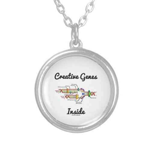 Creative Genes Inside (DNA Replication) Custom Necklace
