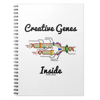 Creative Genes Inside (DNA Replication) Notebooks