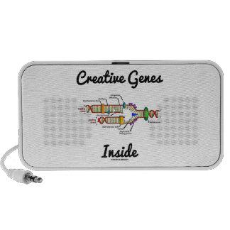 Creative Genes Inside (DNA Replication) Notebook Speakers