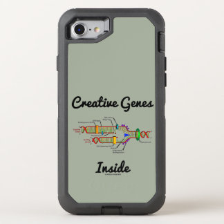 Creative Genes Inside (DNA Replication) OtterBox Defender iPhone 8/7 Case