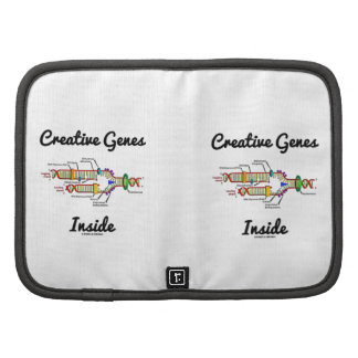 Creative Genes Inside (DNA Replication) Folio Planner