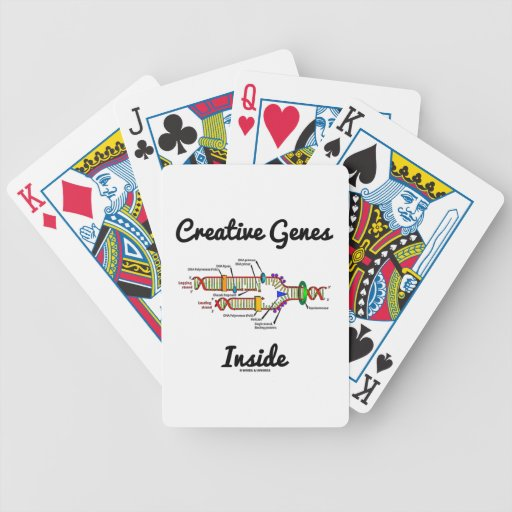 Creative Genes Inside (DNA Replication) Playing Cards