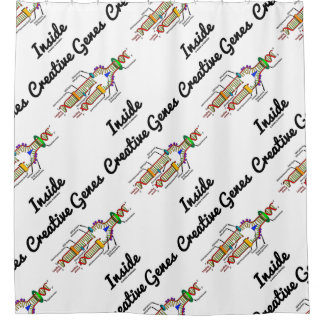 Creative Genes Inside (DNA Replication) Shower Curtain