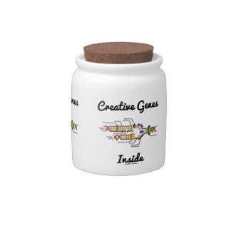 Creative Genes Inside (DNA Replication) Candy Jar