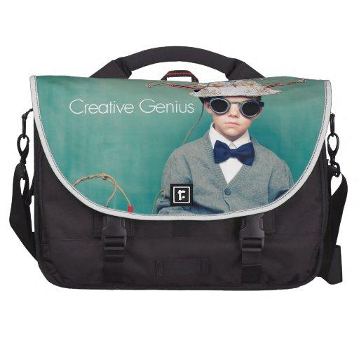 Creative Genius Designs Laptop Commuter Bag