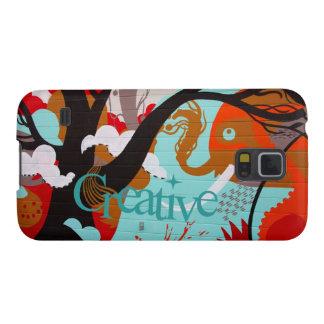Creative Graffiti Case For Galaxy S5
