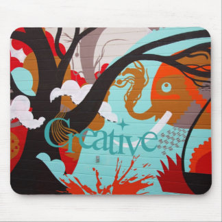 Creative Graffiti Mouse Pad