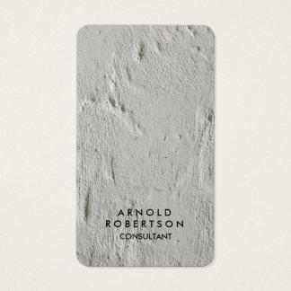 Creative Grey Wall Modern Elegant Business Card