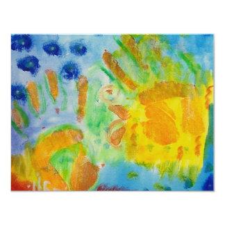 Creative Hands Piliero 11 Cm X 14 Cm Invitation Card