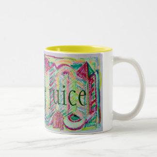 creative juice Two-Tone coffee mug