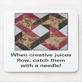 Creative Juices Quilter's Mouse Pad