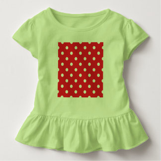 Creative kids t-shirt green with Dots