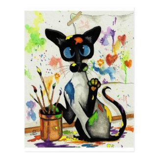 Creative Kitty Cat Postcards