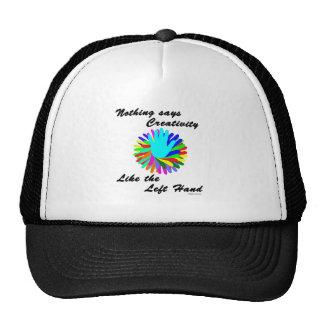 Creative Left Hand Trucker Hat