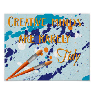 Creative Minds Poster