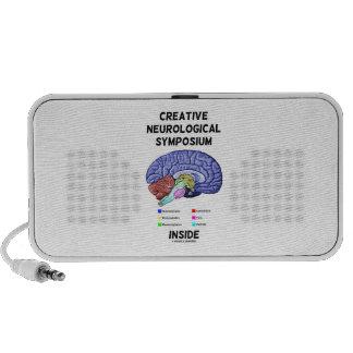Creative Neurological Symposium Inside (Brain) Portable Speakers