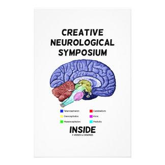 Creative Neurological Symposium Inside (Brain) Personalised Stationery