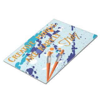 Creative notebook notepads