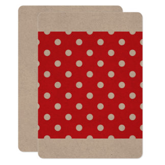 Creative paper Invitation : 50S DOTS