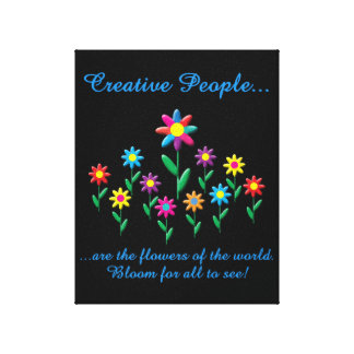 Creative People Canvas Print
