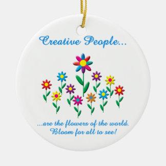 Creative People Christmas Ornament