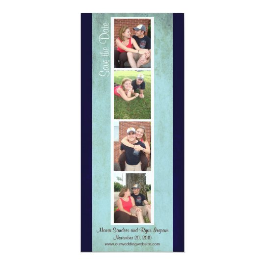 Creative Photo Booth Save the Date (Sky Blue)
