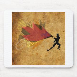 """Creative Rage"" Street Art Design Mousepad"
