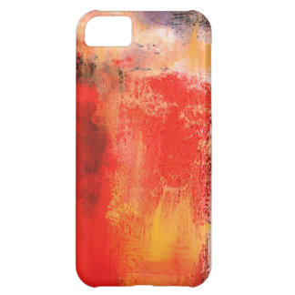 Creative Red Abstract iPhone 5C Cases