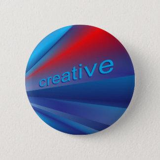 Creative Speedy Blends 6 Cm Round Badge