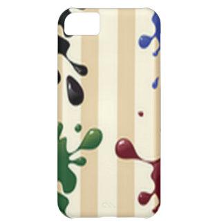 Creative splash design iPhone 5C case