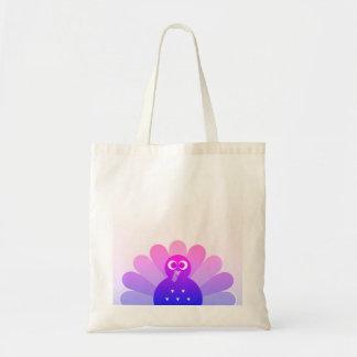 Creative tote bag with stylish Bird
