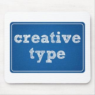 Creative Type Mousepad