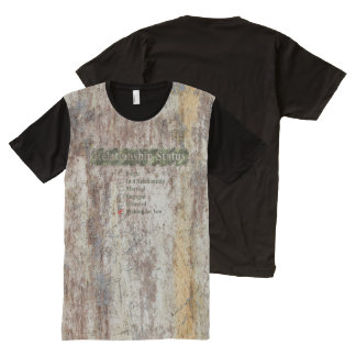 CREATIVE TYPOGRAPHY 4 All-Over PRINT T-Shirt