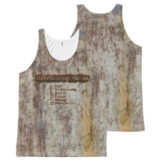 CREATIVE TYPOGRAPHY 4 All-Over PRINT TANK TOP