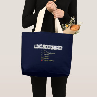 CREATIVE TYPOGRAPHY 4 LARGE TOTE BAG